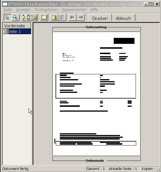 drucker druckt keine pdf
