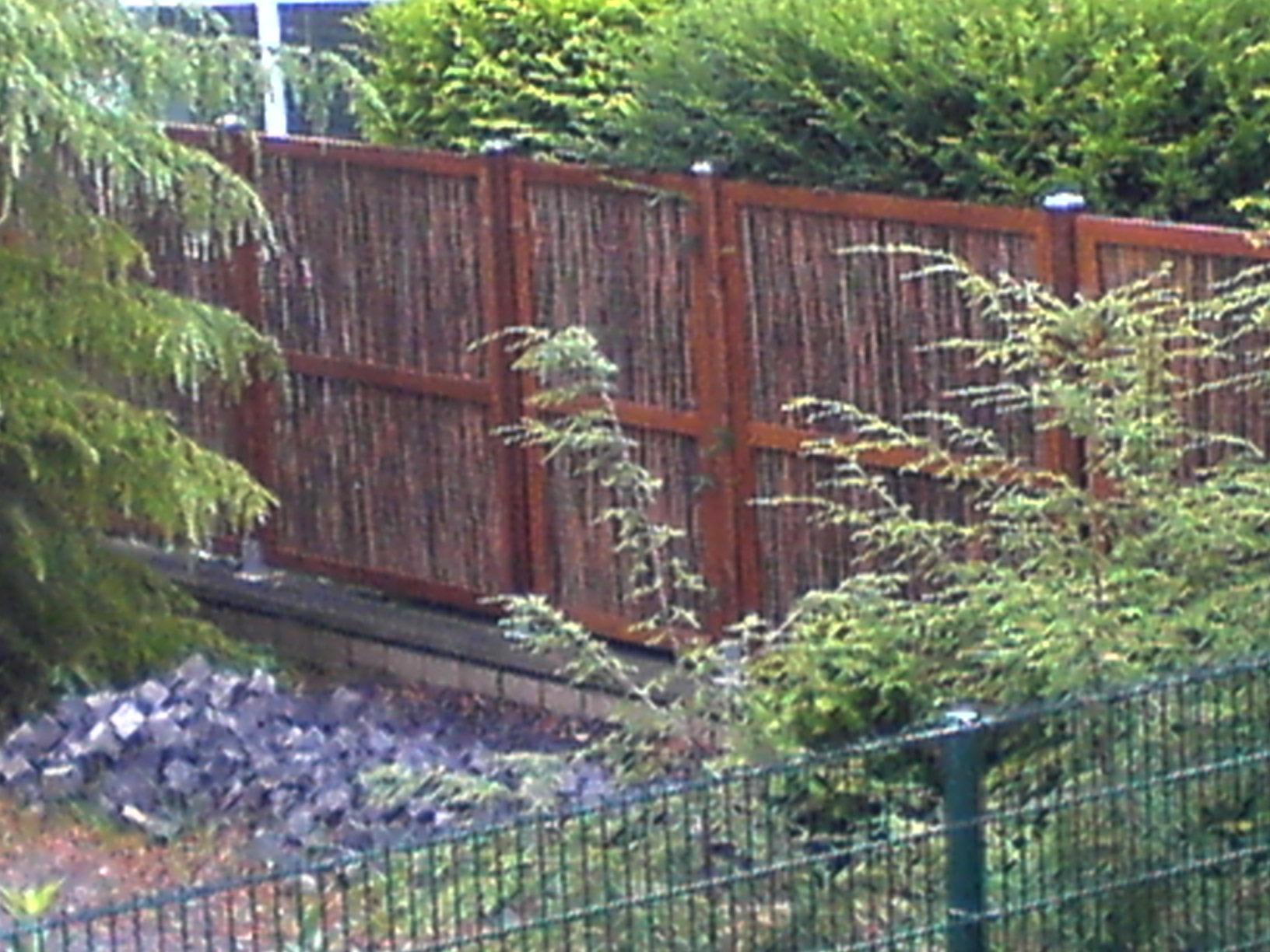 sichtschutz selber bauen weide: balkon sichtschutz holz nach ma, Garten und Bauen