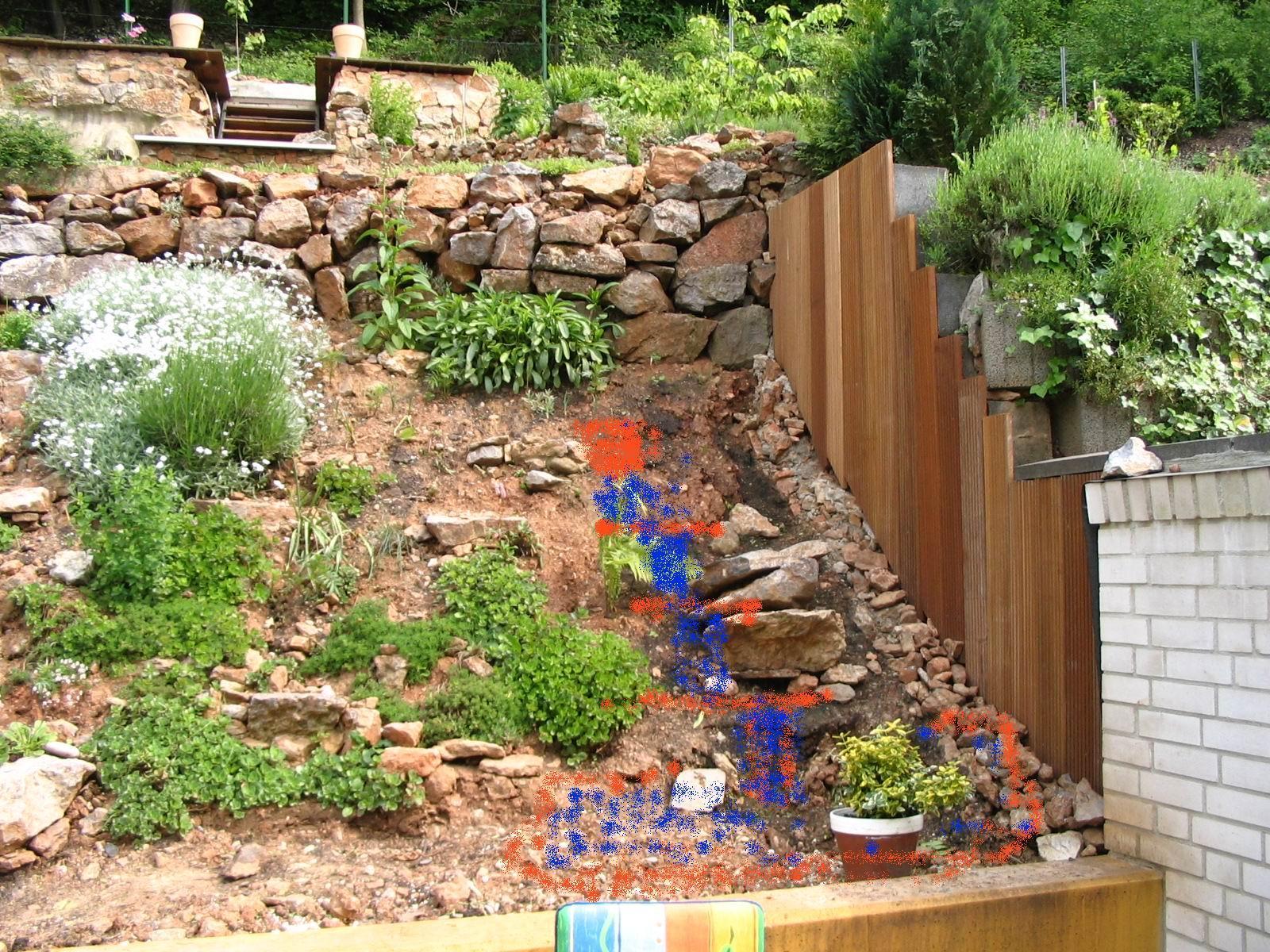 Schön Gartengestaltung Hang Schema