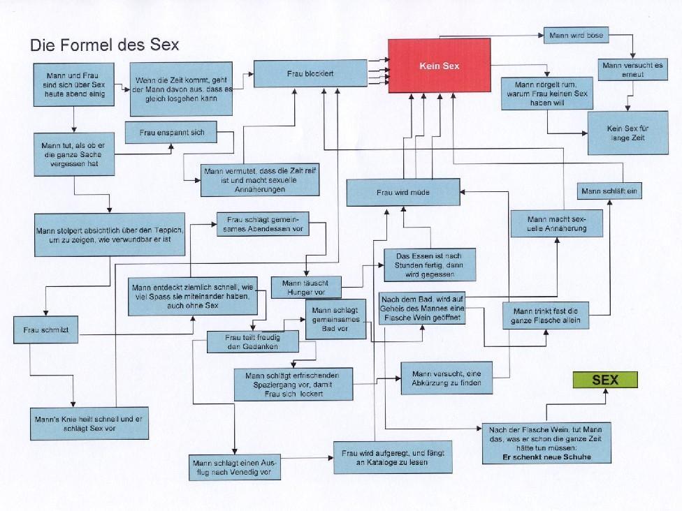 Das Sex-Ablaufdiagramm - Paare und Paarung - Zeitwort Nachrichten ...