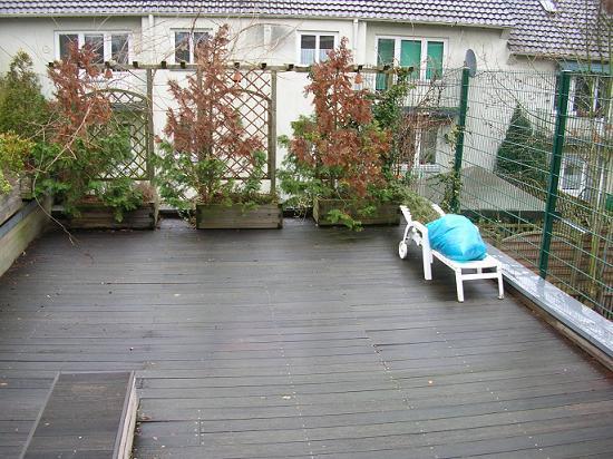 Unterbau Von Terrasse Vergammelt Kann Man Nur Den Erneuern Mein