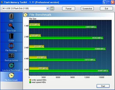 Flash Memory Toolkit v1.11