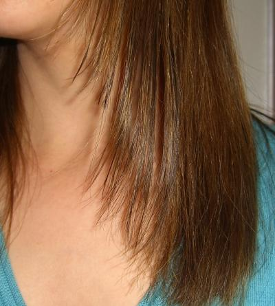 Lange haare selber stufig schneiden