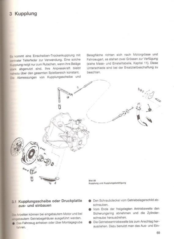 Kupplungsseil Kupplungszug Kupplungsbetätigung