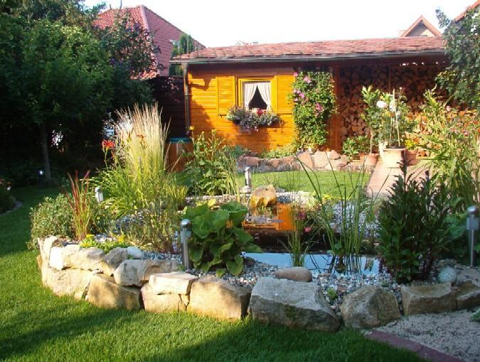 Ideen für Ersatz einer Regentonne am Gartenhaus - Mein schöner ...