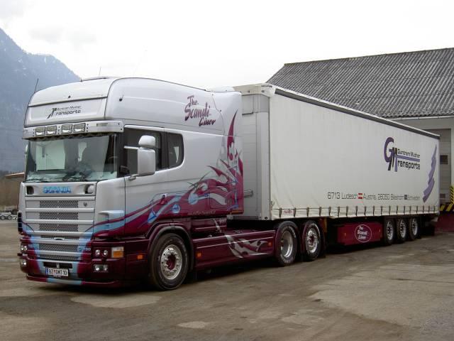 Scania longline exc europ ische trucks trucker forum for Interieur scania longline