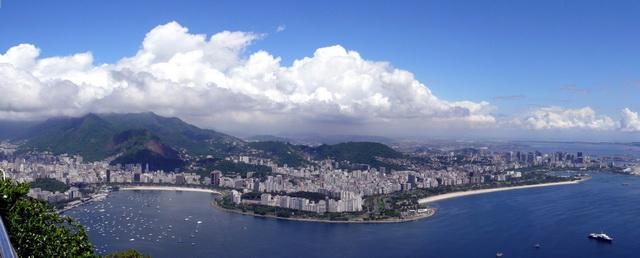 Nach Links Sieht Man Die Copacabana Image Image