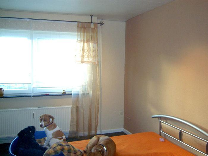 Schlafzimmer Vorher/Nachher