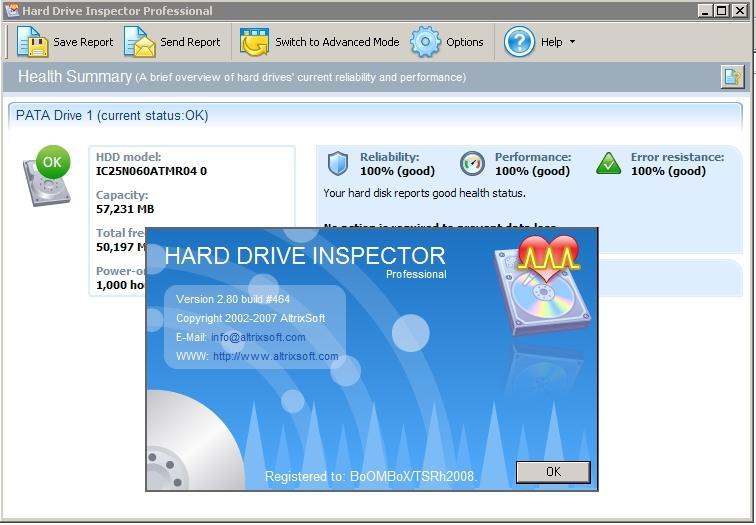 Hard Drive Inspector Pro 2.80 Build 464
