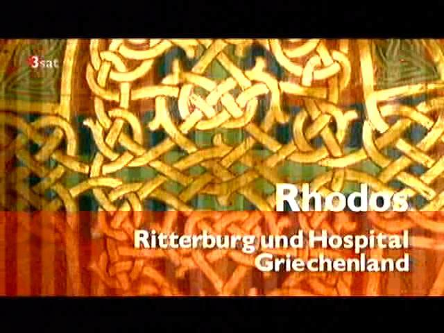Rhodos,Ritterburg und Hospital