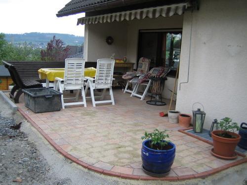 meine neue terrasse fast fertig mein sch ner garten forum. Black Bedroom Furniture Sets. Home Design Ideas