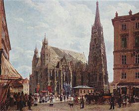 Antiquitäten & Kunst Österreich Wien Wien Stefansdom Giebel Halten Sie Die Ganze Zeit Fit 1887 7 Österreich
