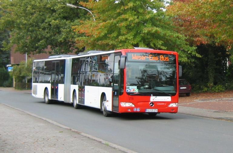 weser ems bus mb citaro g regionalbusforum ostfriesland. Black Bedroom Furniture Sets. Home Design Ideas