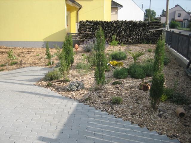 mediterraner vorgarten - vorher/nachher - seite 1, Garten ideen