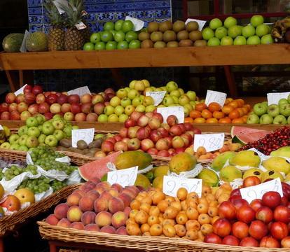 früchte auf madeira