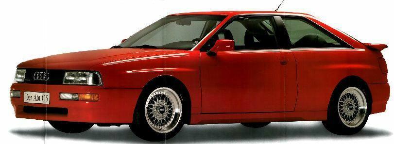 Audi 5 Zylinder Forum Thema Anzeigen Audi Coupe Quattro 20v Von Abt