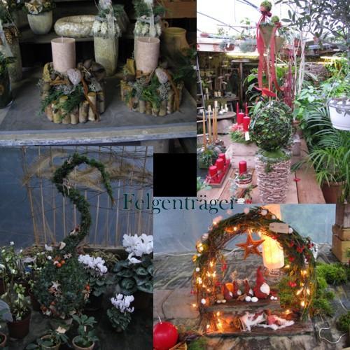 Weihnachtsdeko Garten Ideen