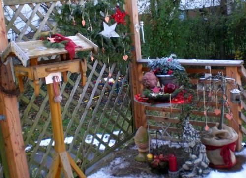 Fotos weihnachtsdeko im garten - Garten weihnachtsdeko ...