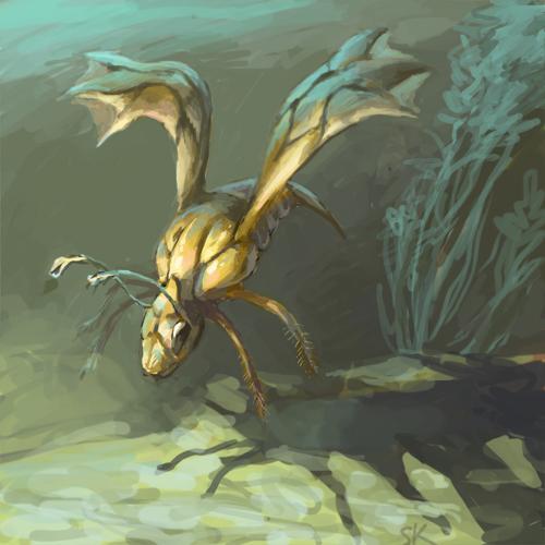 DSG 1454: Sci-Fantasy • TINY ALIEN BUG