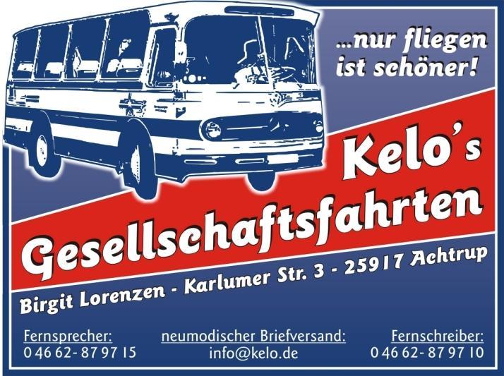 KeLo`s Gesellschaftsfahrten - Inh. Birgit Lorenzen