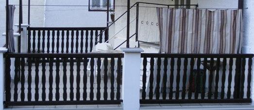 sichtschutz als vorhang f r terrasse kennt das jemand. Black Bedroom Furniture Sets. Home Design Ideas