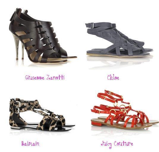Podyumlardan En Popüler 2010 Yazlık Ayakkabıları