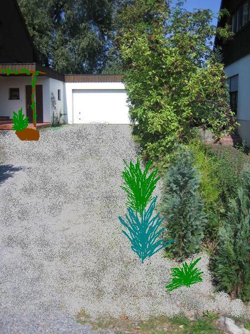 Berraschung f r die mutter bitte um hilfe bei der for Garten randgestaltung
