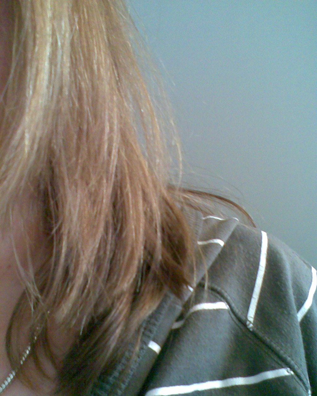 problem mit haaren sobald ich draussen bin