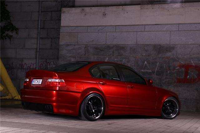 Von Black To Candy Red Neue Pics 3er Bmw E46 Quot Limousine Quot Tuning Fotos Bilder