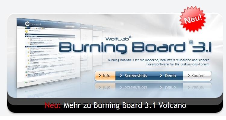 Burning Board 3.1 Volcano