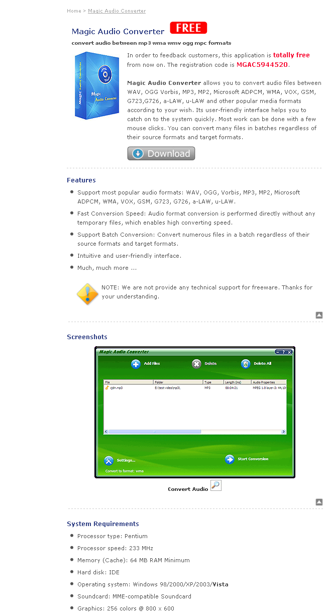 Magic OGG To MP3 Converter download free for windows 8 1