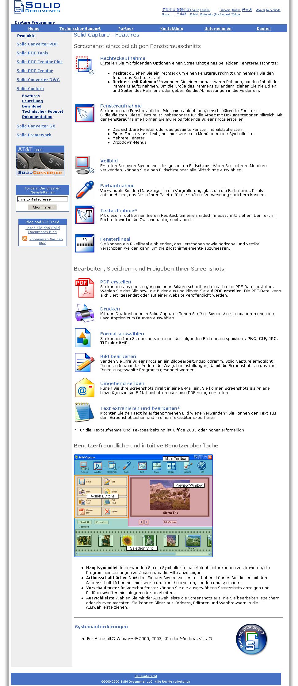 Windows Build  Systemanforderungen