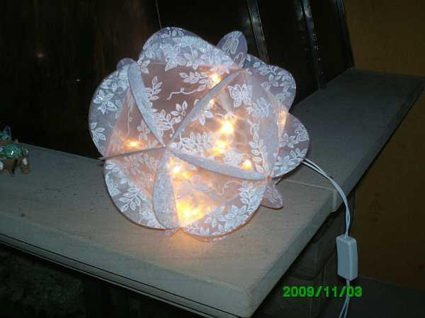 Die Bastel Elfe Das Bastelportal Mit Ideen Und Einem Bastelforum Bastelforum Crea Pop Lampen Leuchten Leuchtkugel Weiss