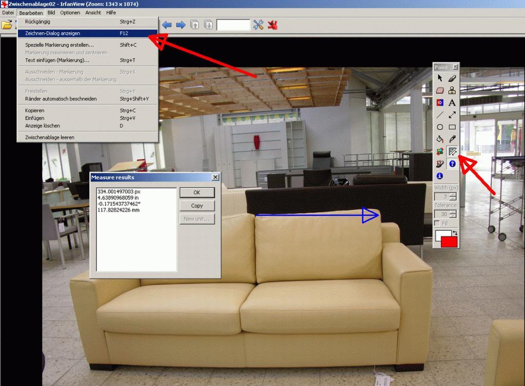 freies programm zum vermessen von bildern hansebubeforum. Black Bedroom Furniture Sets. Home Design Ideas