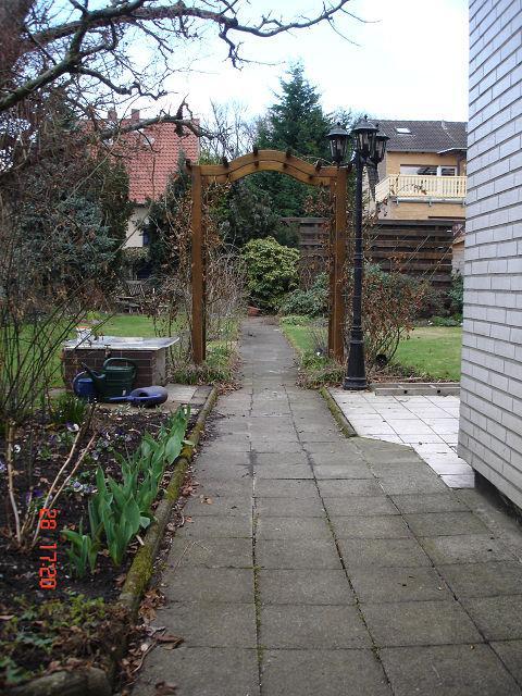Neuer gartenweg seite 1 gartengestaltung mein for Gartengestaltung rosenbogen