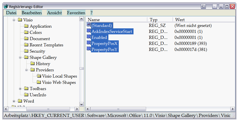 Visio doesn\'t find any shapes when searching from the Shapes Pane