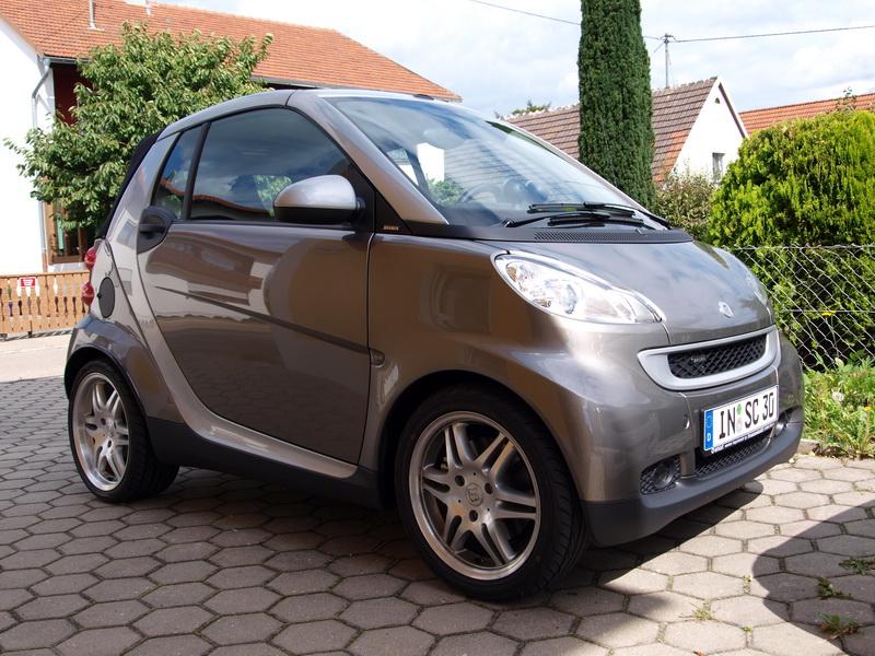 bilder von meinem neuen smart cabrio mit brabus sportpaket. Black Bedroom Furniture Sets. Home Design Ideas