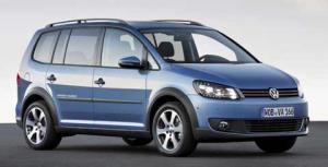 VW Crosstouran tanıtıldı