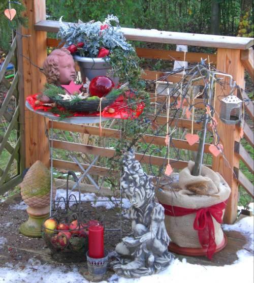 weihnachtsdeko fur den garten – actof, Terrassen ideen