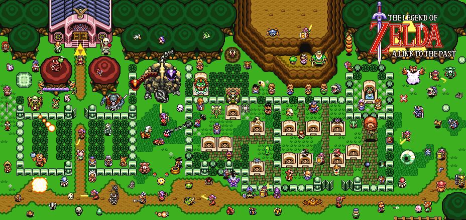 SNES Forum  Kydons Bügelperlen Bild im Zelda Motiv