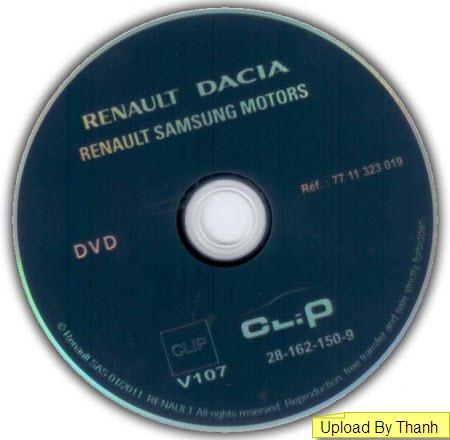 Renault Diagnostic Can-Clip v107 (Multilanguage)