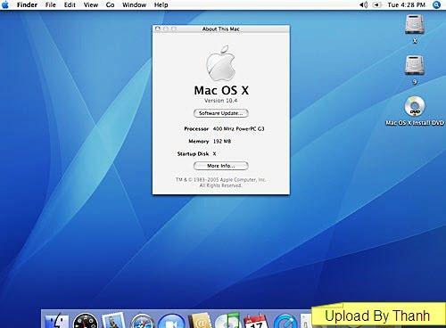 Mac OSX 10.4 Tiger CD Version English