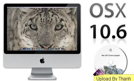 Mac OS X Snow Leopard 10.6.6 HAZARD (RUS/ENG) 2011