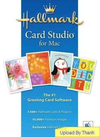 Hallmark Card Studio for MacOSX 2010