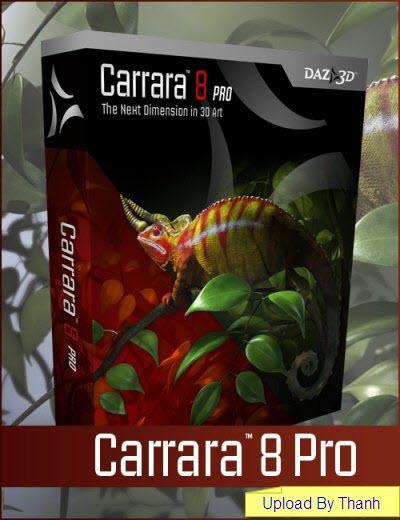 Carrara Pro 8 for Mac