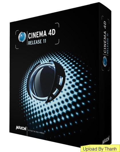 Maxon Cinema 4D R12 for Mac