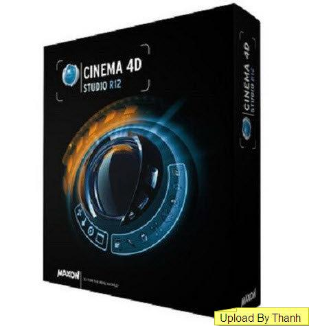 Maxon Cinema 4D Studio R12 Retail Multilingual (x86/x64)