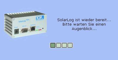 Solar log fehler 101