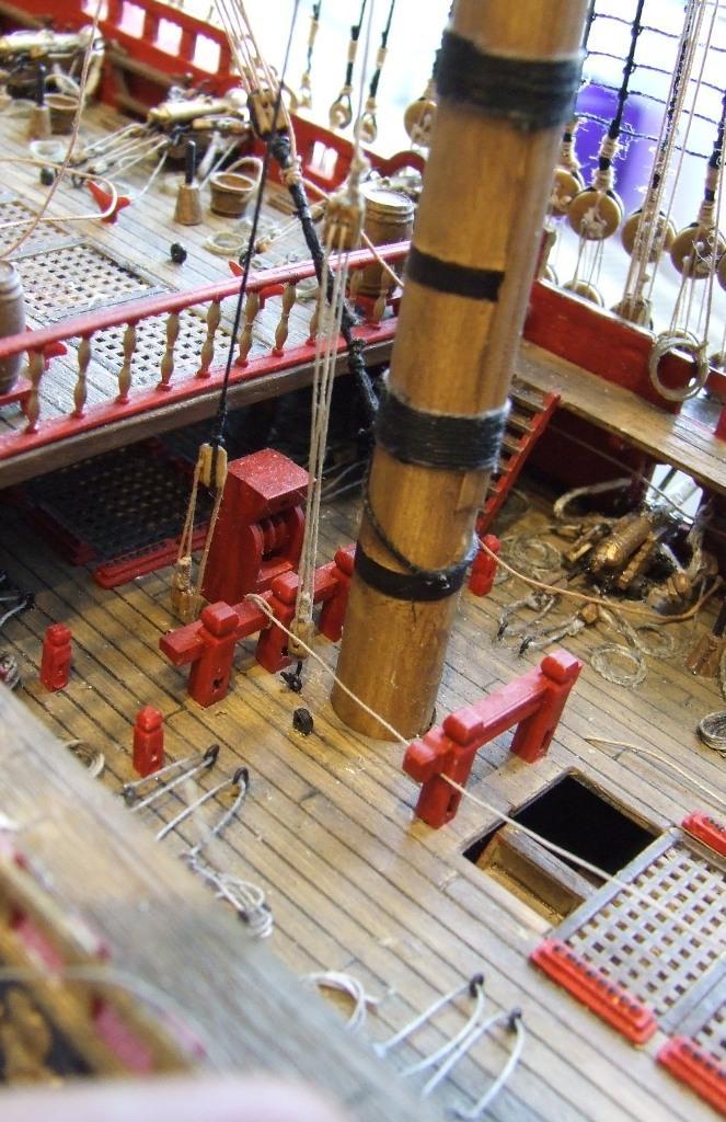 gesamte takelung eines schiffes