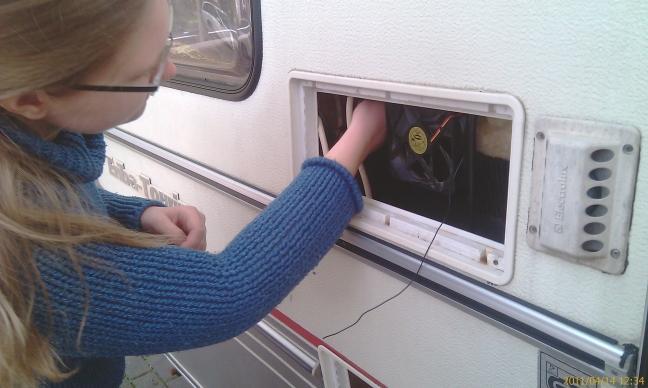 Kühlschranklüfter : Basteltag am pan v kfz steckdose und kühlschranklüfter eriba
